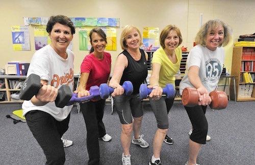 Teachers getting fit!
